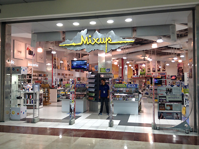 Mixup music store for Adolfo dominguez plaza americas xalapa