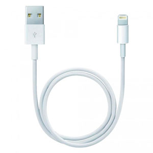 CABLE LIGHTNING - WHITE (2 M)