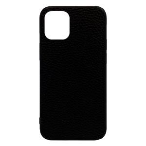 LEATHER CASE BLACK FOR IPHONE 12 MINI