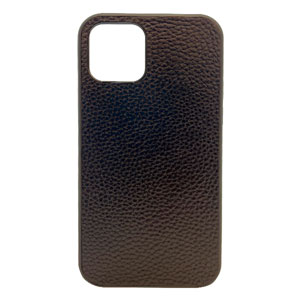 LEATHER CASE BLACK FOR IPHONE 12 PRO MAX