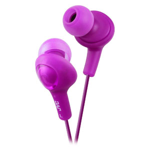 GUMY PLUS NOISE ISOLATION HEADPHONES - GRAPE VIOLET HA-FX5-V