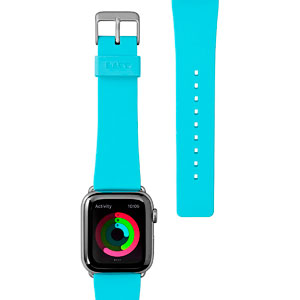 HUEX PASTEL STRAP - BABY BLUE FOR APPLE WATCH 42/44 MM