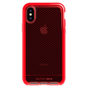 EVO CHECK CASE - ROUGE FOR IPHONE XS