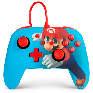 ENHANCED WIRED CONTROLLER - MARIO PUNCH