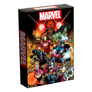 BARAJA POKER MARVEL