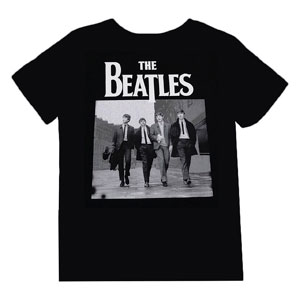 PLAYERA BEATLES NEGRA (CH)