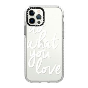 IMPACT FROST CASE - DO WHAT YOU LOVE FOR IPHONE 12 / 12 PRO