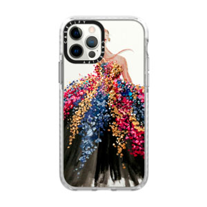 IMPACT FROST CASE - BLOOMING GOWN FOR IPHONE 12 / 12 PRO