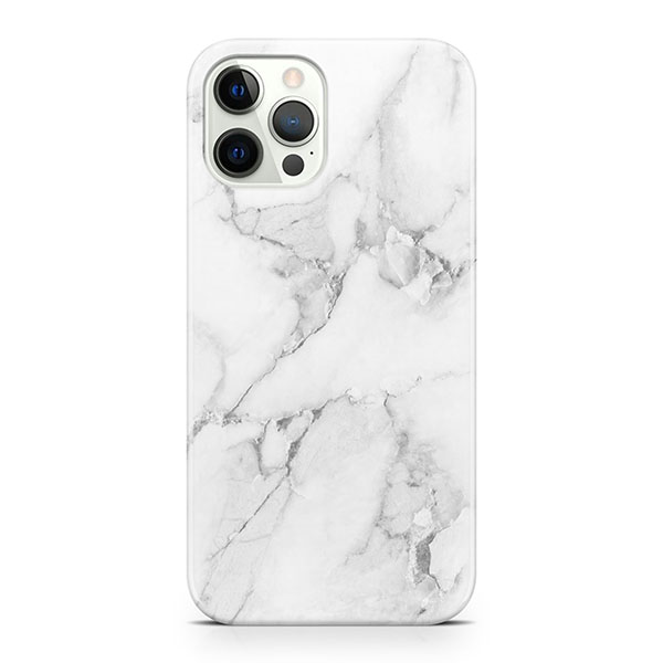 MARBLE CASE - WHITE FOR IPHONE 12 PRO MAX