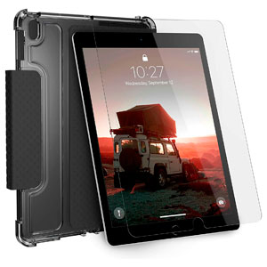 U LUCENT CASE - BLACK/ICE FOR IPAD 10.2 (7TH/8TH GEN)