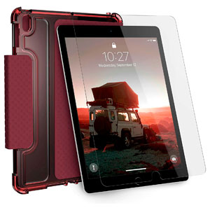 U LUCENT CASE - AUBERGINE/DUSTY ROSE FOR IPAD 10.2 (7TH/8TH GEN)