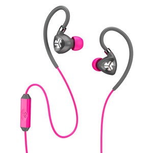 FIT 2.0 SPORT EARBUDS - PINK/GRAY