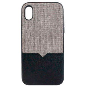 NORTHILL CASE - CANVAS/BLACK FOR IPHONE XS MAX W/VENT MOUNT