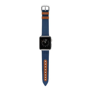 NORTHILL - BLUE/SADDLE FOR APPLE WATCH 38MM