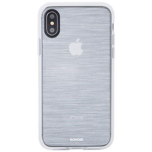 CLEAR COAT - MIST SILVER FOR IPHONE XS MAX