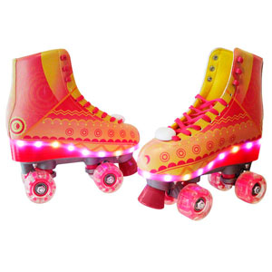 PATINES 3.0 LIGHT UP RAYO DE SOL T-23