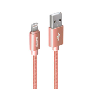 SYNC & CHARGE CABLE LIGHTNING - PINK