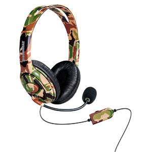X-TALK ONE GAMING HEADSET- CAMOUFLAGE