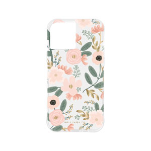 RIFLE PAPER CO. W/ANTIMICROBIAL CASE - WILDFLOWERS FOR IPHONE 12 PRO MAX