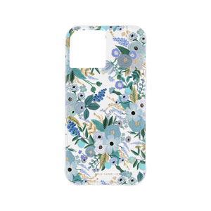RIFLE PAPER CO. W/ANTIMICROBIAL CASE - GARDEN PARTY BLUE FOR IPHONE 12 PRO MAX