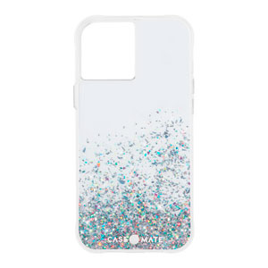 TWINKLE OMBRE W/MICROPEL CASE - MULTICOLOR FOR IPHONE 12 PRO MAX