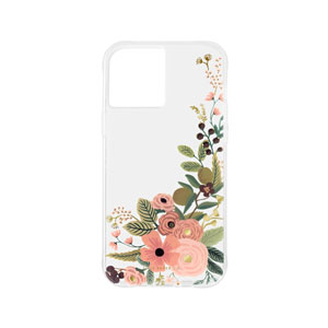 RIFLE PAPER CO. W/ANTIMICROBIAL CASE - FLORAL VINES FOR IPHONE 12 PRO MAX