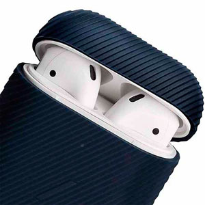 AIRPODS CURVE CASE - NAVY