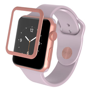 INVISIBLE SHIELD FOR WATCH SERIES 3 - ROSE GOLD 38MM